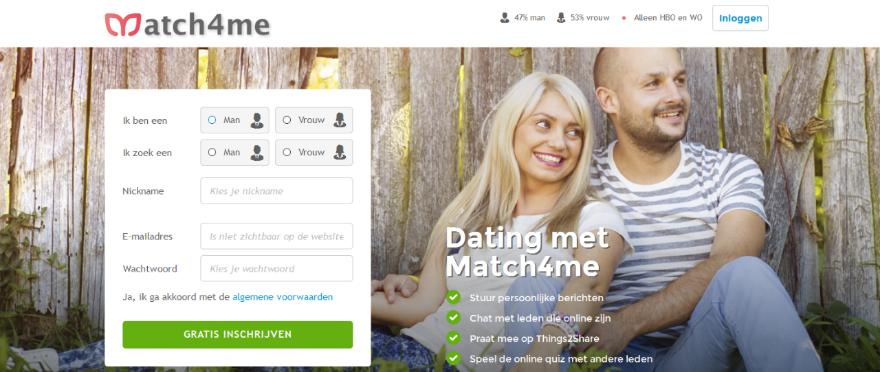 Online dating alleen voor hoger opgeleiden